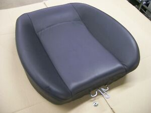 PEUGEOT 206 CC O/S/R REAR SEAT BACK CUSHION BLACK LEATHER OFF 2006 YEAR 3 DOOR