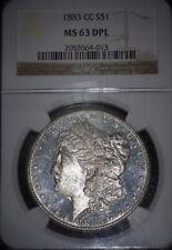 1883-CC Morgan Silver Dollar NGC - MS63  Deep Proof Like