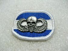 /Us Army Badge Parachutist Skull 82nd Airborne 1st Brigade