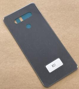 New OEM LG K51 GREY Back Cover K500um K500mm K500qm Replace Original Door K500