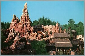 Vintage Postcard Disneyland Anaheim CA Runaway Big Thunder Mountain Railroad
