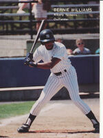 Bernie Williams 1990 Best #26 RC Rookie Albany New York Yankees baseball card