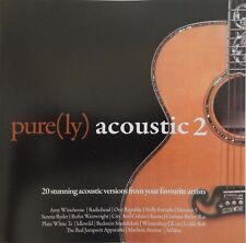 Pure(ly) Acoustic 2 - Various Artists (CD 2008 Universal) RARE OOP Near MINT