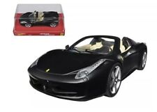 Hot Wheels Ferrari 458 Spider #BLY65 New Never Removed From Box 2014 Black 1:24