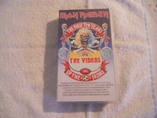 """Iron Maiden  """"The First ten years"""" 1990  VHS EMI Records 73 Minutes $"""