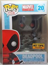 Funko Pop Deadpool X-Force # 20 Hot Topic Exclusive Figure Slightly Damaged