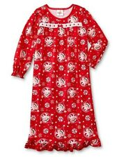 The ELF on The Shelf Nightgown Girl's size 4 NeW Soft Warm Flannel Pjs Pajamas
