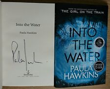 PAULA HAWKINS SIGNED INTO THE WATER 1/1 UK HB/DJ 2017 BRAND NEW UNREAD COPY
