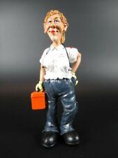 Sanitäterin Paramedic Sanitation Funny ,16 cm,Occupation Profession Figures