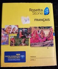 ROSETTA STONE - FRENCH FRANCAIS Level 1 Version 4 SEALED BOX Headset Microphone