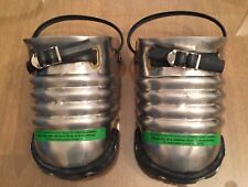 Pair Ellwood Sankey steel toe shoe protectors safety guards foot covers #200