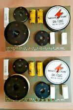 2 Stück Monacor 3-Wege Hifi PA Frequenzweiche Lautsprecher Boxen 8Ohm 12db DN-10