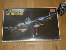WW#2, Lockheed P-38L PATHFINDER, Fighter Plane, Plastic Model Kit, Scale 1/48