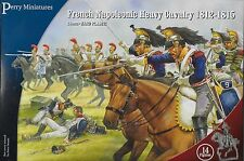 Perry Miniatures FN 120 Plastic French Napoleonic Heavy Cavalry 28mm Plastic New