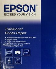 """Epson Traditional Photo Paper 300gsm 44"""" x 15m - New Old Stock"""