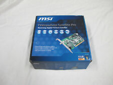 MSI DTV Satellite Card MODEL : TV@nywhere Satellite Pro - OLD SCHOOL HARDWARE