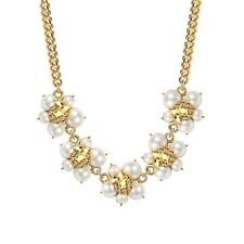 Crystal Necklace Imitation Pearl and