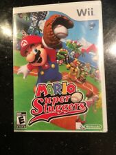 Mario Super Sluggers (Nintendo Wii, 2008) 1st Printing Brand New Factory Sealed