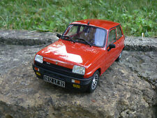 renault 5 r5 alpine turbo rouge 1/18 1:18 otto ottomobile ottomodels neuf boxed