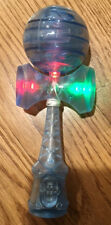 Blue FLASHING LIGHT LED Kendama, USA SELLER! FAST SHIP!