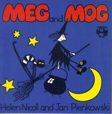 MEG AND MOG - HELEN NICOLL & JAN PIENKOWSKI (ills) PICTURE PUFFIN PAPERBACK - VG