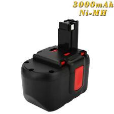 GBH24VF GCM24V 2x BATTERIE d/'outil 24V 3000mAh noir rouge pour BOSCH GBH-24V