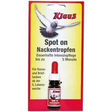 Klaus Spot-On Nackentropfen 10 ml für Tauben und Geflügel