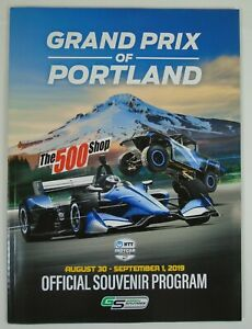 2019 Grand Prix of Portland IndyCar Official Souvenir Program Will Power