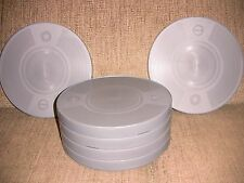 SIX- 800ft 16mm Plastic CANS - NEW ARCHIVAL
