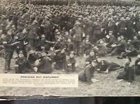 m10-9a ephemera ww1 picture 1917 dominion day canadian troops celebrate