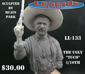 "LL-133 ""The Ugly"" (Tuco) 1/10th scale resin bust"