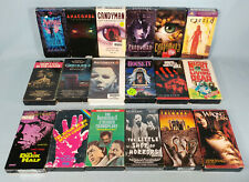 Vhs Horror Sci-Fi Movie Lot House Iv Halloween 4 - Working W/Condition Issues