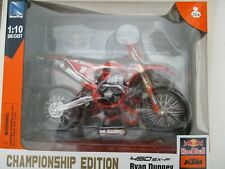 MINIATURE MOTO KTM 450 SXF RYAN DUNGEY CHAMPIONSHIP EDITION N°1  NEW RAY 1/10