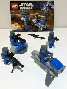 Lego Star Wars Mandalorian Battle Pack (7914) 100% Complete Instructions No Box