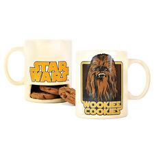 WOOKIEE COOKIES BISCUIT HOLDER MUG CERAMIC TEA COFFEE CUP STAR WARS CHEWBACCA