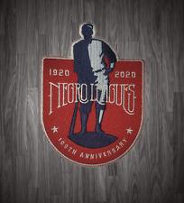 Centennial 100 Years Negro League Patch 1920 - 2020 Baseball Jersey