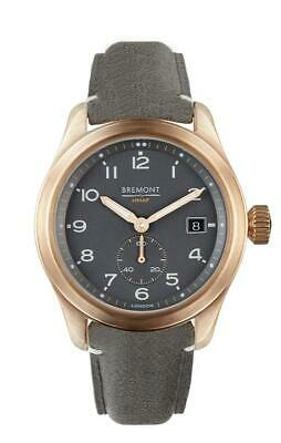 AUTHORIZED DEALER BREMONT BROADSWORD BRONZE SLATE 40MM CASE AUTOMATIC Watch