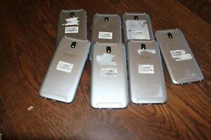 (Lot of 7) SAMSUNG GALAXY J5 Pro Cell Phones 16GB Light Blue SM-J530G J530