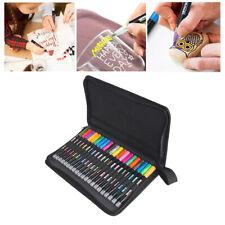 Double Line Outline Pens 21 Colors Outline Metallic Marker Highlighter Pens Set