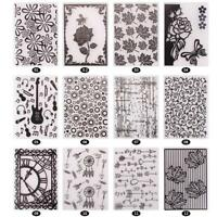 Various Plastic Embossing Folders for DIY Card Making Decoration Supplies MZUS