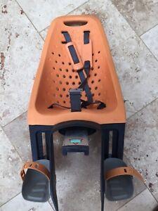 Thule Yepp Maxi Child Bike rear seat with mount Orange