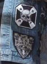 HEAVY METAL BAND BLACK LABEL SOCIETY BLS 2-PATCH SET for left of BLS VEST
