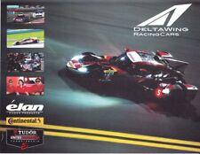 2014 DeltaWing Elan P Petit Le Mans IMSA TUSC postcard Katherine Legge