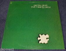 Gentle Giant 1977 Capitol  LP The Missing Piece