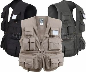 Uncle Milty Fishing Touring Photo Travel Vest All Sizes