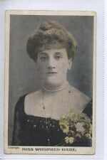 (BA13) Actress Miss Winnifred Hare c1910 - Used Stamp Missing