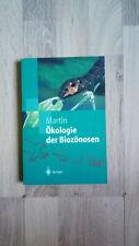 Ökologie der Biozönosen. Springer-Lehrbuch von Konrad Martin (2002, Taschenbuch)