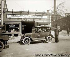 Vintage Auto and Car Repair Garage / Dealer - circa 1920 - Historic Photo Print