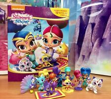 My Busy Books Shimmer and Shine 12 Figurines Book Playmat Original Nickelodeon