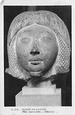 B69107 Musee du Louvre Tete Masculina  postcard art france paris